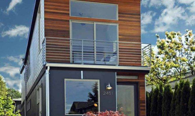 Skinny Foot Wide House Seattle Living
