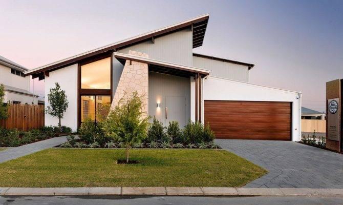 Slant Roof Style House Plans House Plans 116756