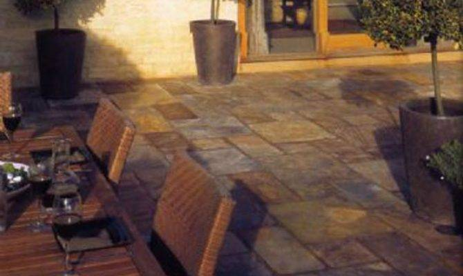 Slate Paving Bath Porcelain Patio Slab Centre