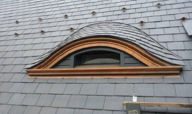 Slate Roofing Eyebrow Dormer Construction