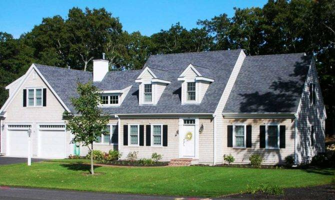 Sleek Cape Cod Style House Plans