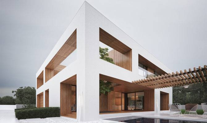 Sleek Modern House