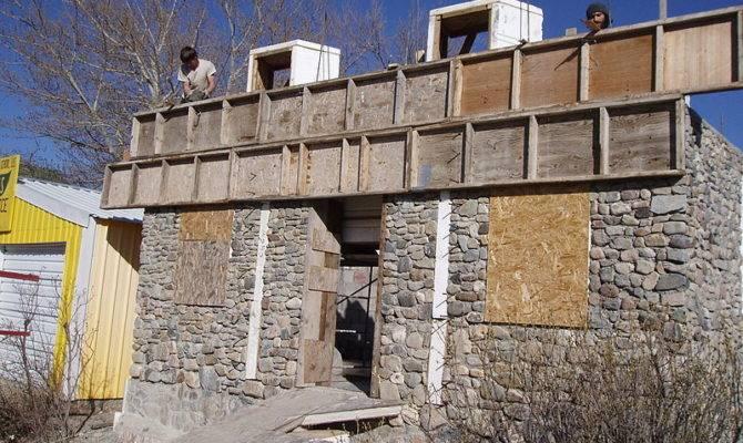 Slipform Stone Masonry Geopolymer House Blog
