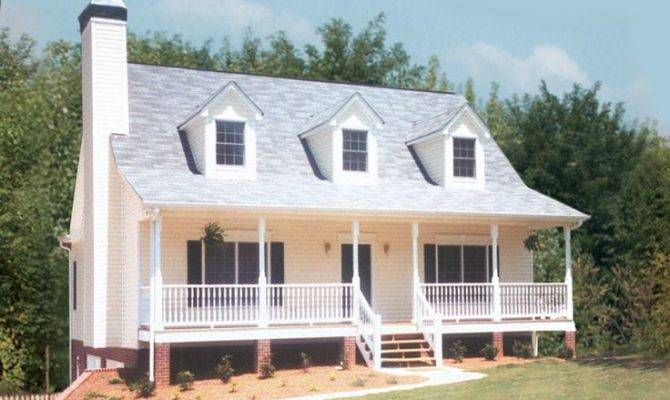 Sloane Crest Country Home Cape Cod Style Triple Dormers