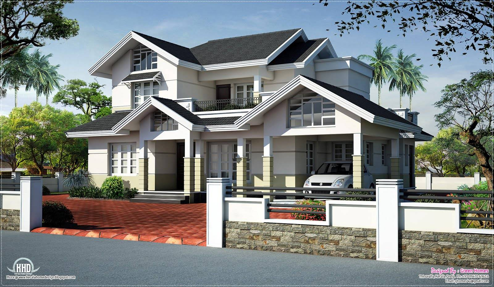18 Best Photo Of Sloping House Designs Ideas House Plans