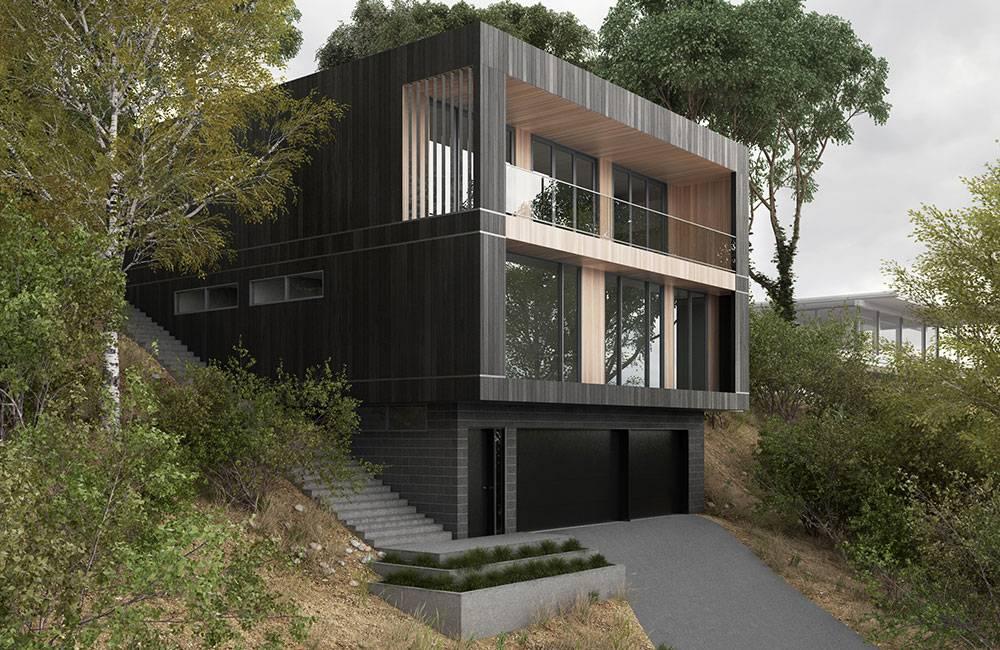 Sloping Block House Designs Builders House Plans 144558