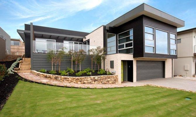 Sloping Block House Designs Geelong Split Level Design