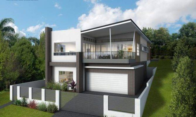 Sloping Blocks Architectural House Designs Australia