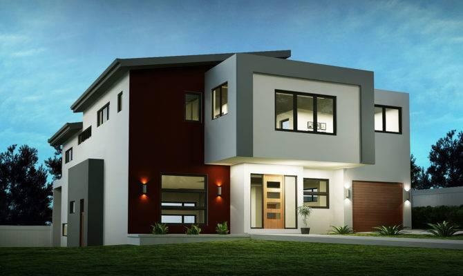 Sloping House Block Designs Custom Home