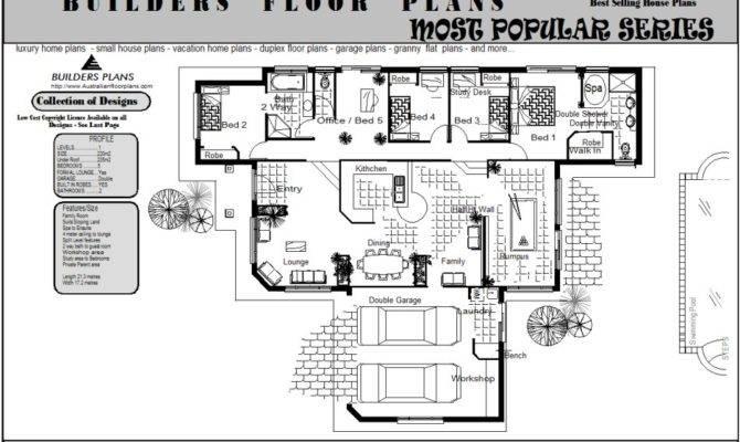 Sloping Land Split Level Floorplan Real Estate Bedrooms