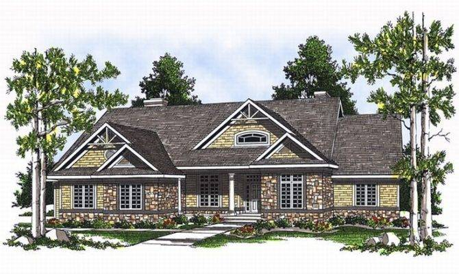 Sloping Lot House Plan Dream Home Pinterest