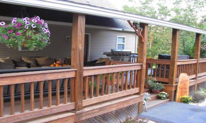 Small Back Porch Designs Houses