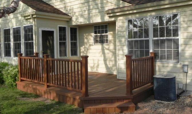 Small Backyard Deck Ideas Back Yard Decks Patios