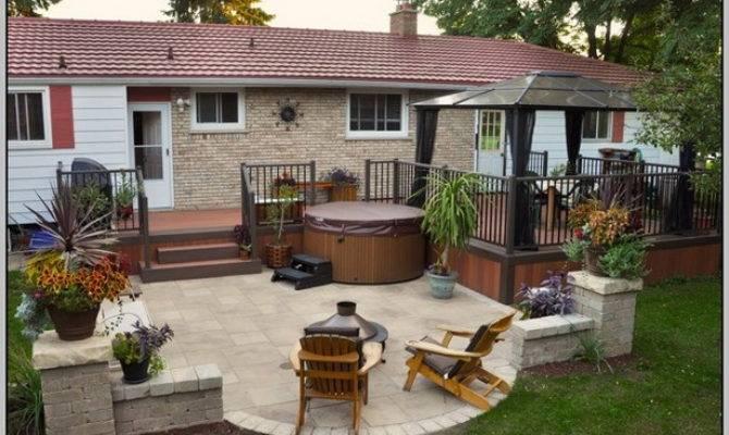 Small Backyard Deck Patio Ideas