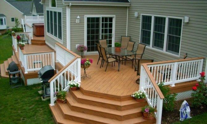 Small Backyard Decks Back Porch Design Ideas