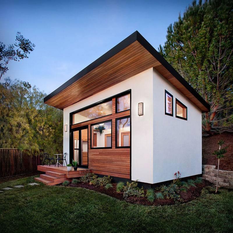 Small Backyard Guest House Big Ideas - House Plans | #138190