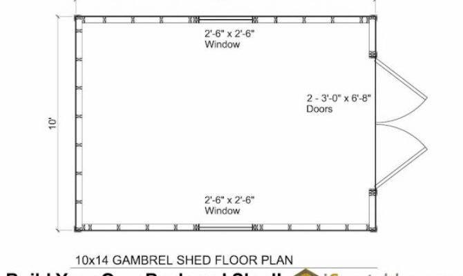 Small Barn Shed Plans Gambrel