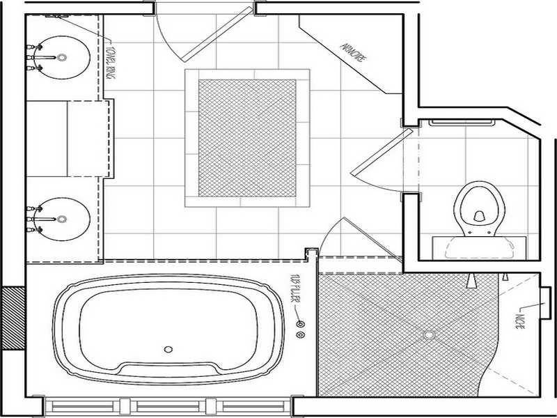 Small Bathroom Remodeling Floor Plan House Plans 85764