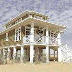 Small Beach House Plans Narrow Lot Silvershadow
