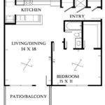 Small Bedroom Apartment Layout Also House Floor Plans