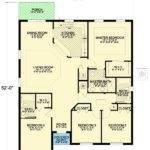 Small Bedroom Mediterranean House Plan