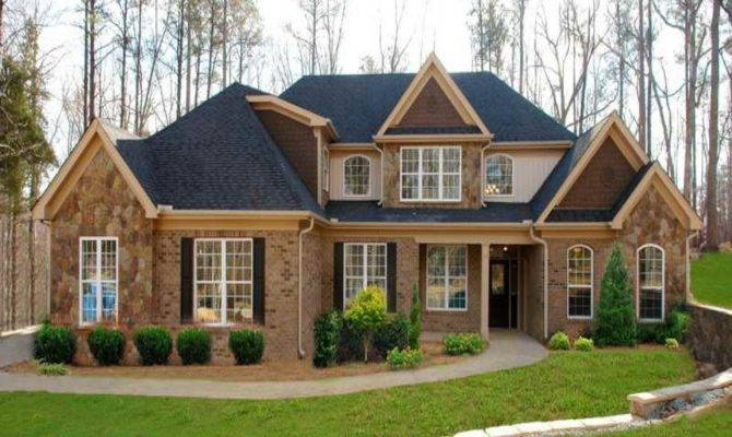 Small Brick Home House Plans Design