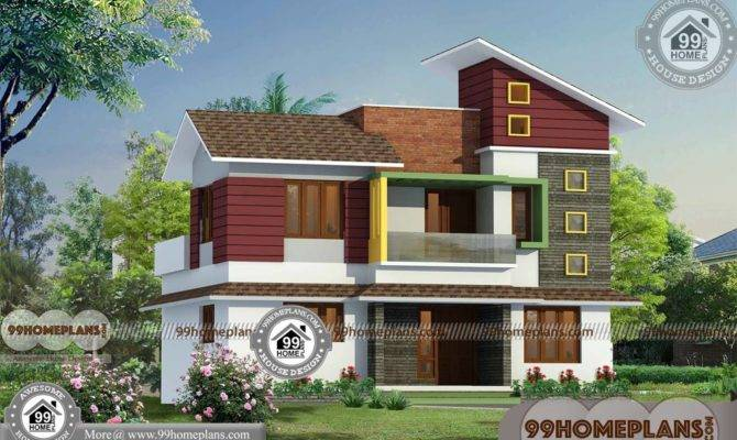 Small Brick House Plans Double Story Contemporary