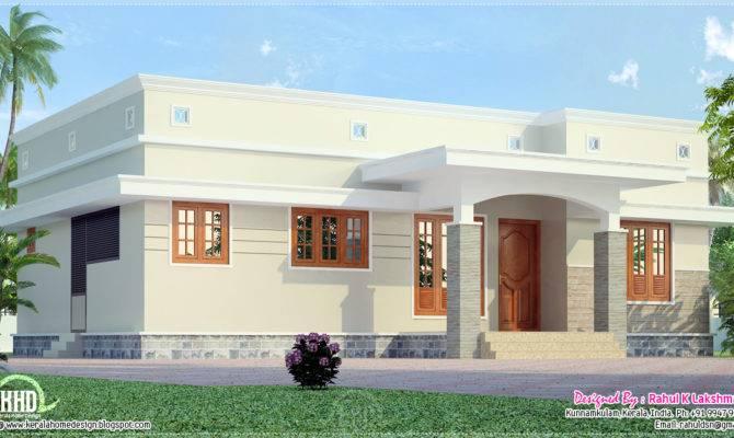 Small Budget Home Plans Design Kerala Floor