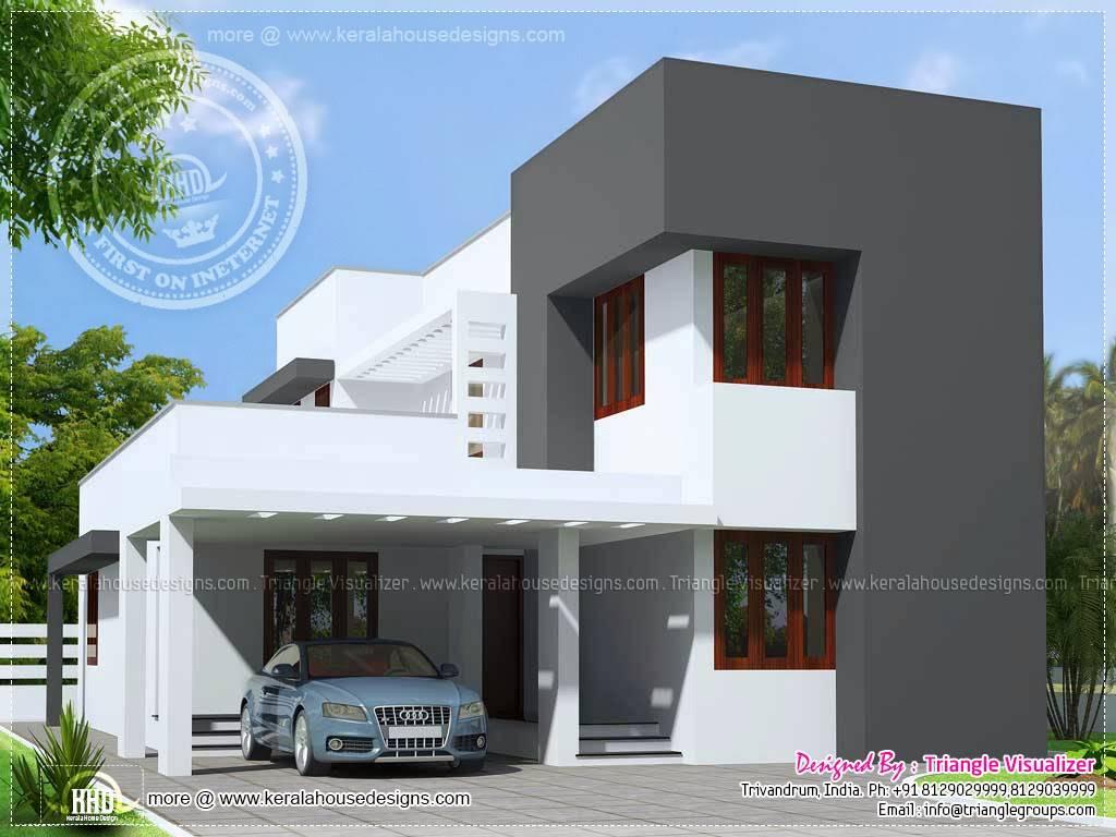 Small Budget Modern House Feet Kerala Home Design House Plans 34890