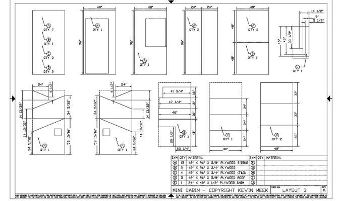 Small Cabin Construction Plans Pdf Building