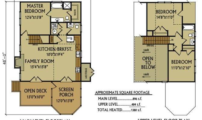 Small Cabin Floor Plan Bedroom Max Fulbright