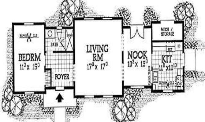 Small Cabin Floor Plans Rustic