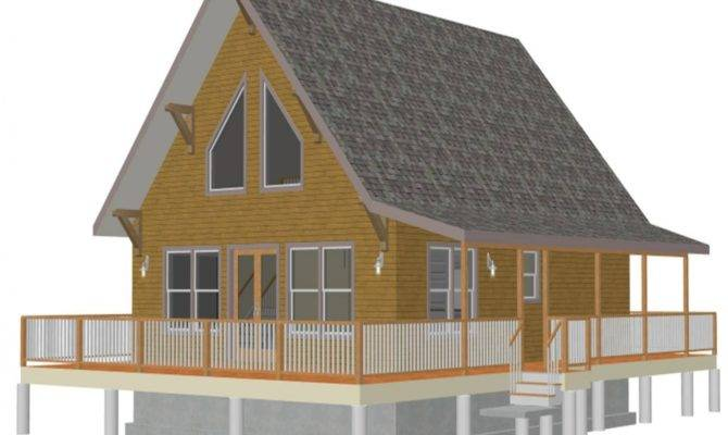 Small Cabin House Plans Loft Rustic