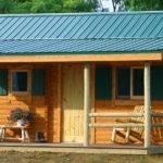 Small Cabin Kit Boulder Lodge Log Conestoga