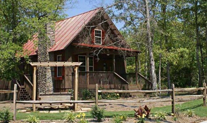 Small Cabin Plan Loft House Plans