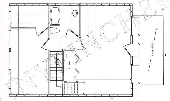 Small Cabin Plans Log Floor Designs