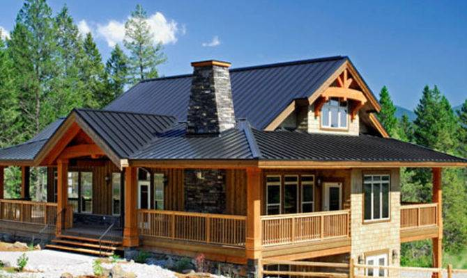 Small Chalet Style Home Plans Log