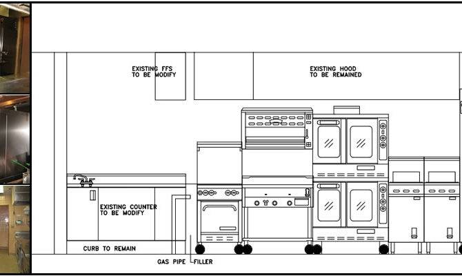 Small Commercial Kitchen Design Layout Home Ideas Essentials House Plans 80480