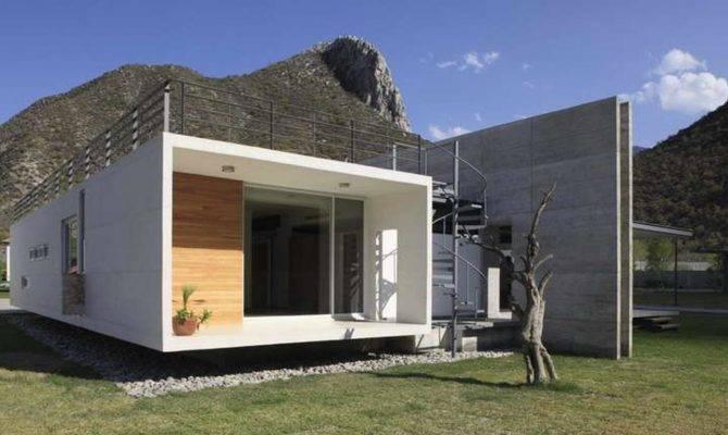 Small Concrete House Plans Modern Plan