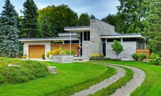 Small Contemporary House Designs Modern Flat Roof