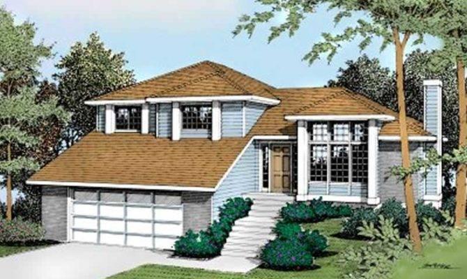 Small Contemporary Multi Level House Plans Home Design Ddi