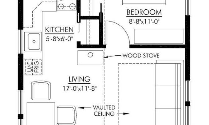 Small Cottage Floor Plan Interior Design
