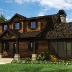 Small Cottage House Plan Screened Porch Close Prefer Bit