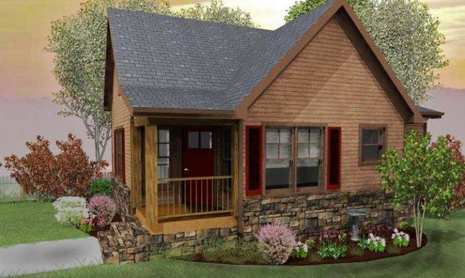 Small Cottage House Plans Loft