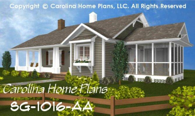 Small Cottage House Plans One Story Economical