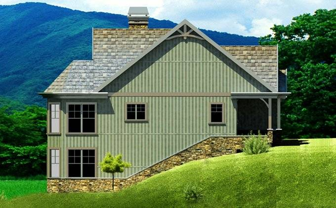 Small Walkout Basement House Plans, Farmhouse Walkout Basement Plans