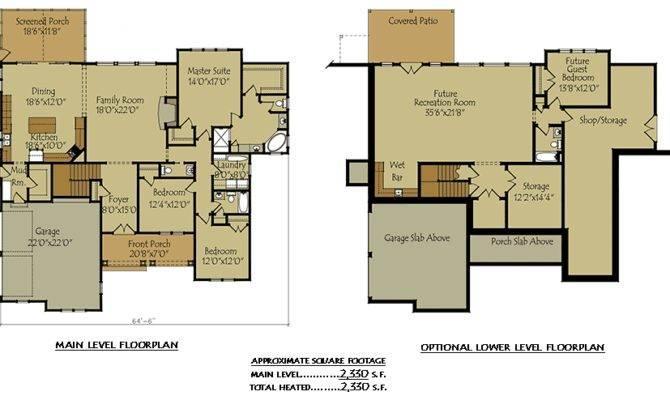 Small Cottage Plans Basement House