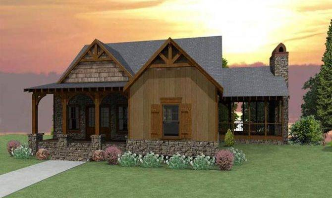 Small Cottages Here Home Plans Craftsman Cottage