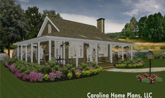 Small Country Cottage Home Plan Great Pinterest
