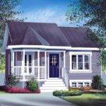 Small Country Home Plan Floor Master Suite